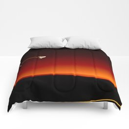Night Lights Moon and Car Comforters