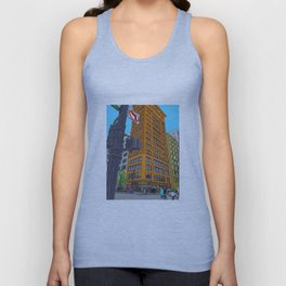 Chicago streets Unisex Tank Top