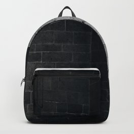 Scary view of hollow Backpack