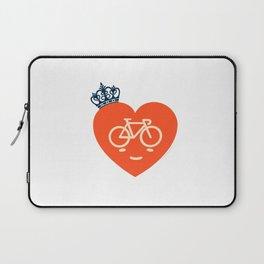 Bike print - Heart Beat Laptop Sleeve