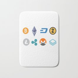 Cryptocurrencies Bath Mat