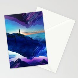 Since the moment I left Purple Stationery Cards