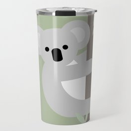 Koala, Australian wildlife, geometric Travel Mug
