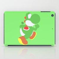 yoshi iPad Cases featuring Yoshi(Smash) by ejgomez
