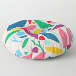 Found Objects Floor Pillow
