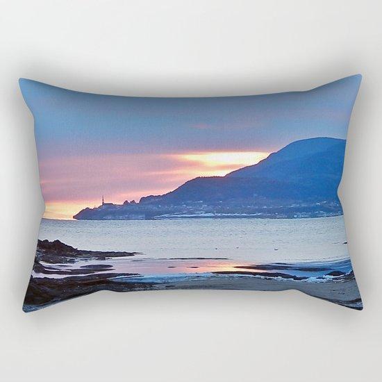 Sunrise in Tourelle Rectangular Pillow