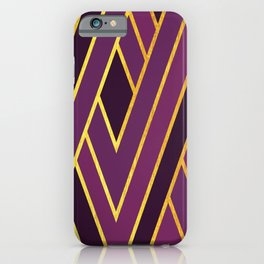 Art Deco Graphic No. 156 iPhone Case