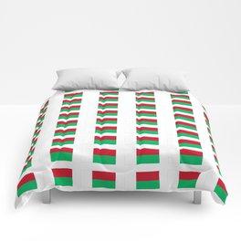 Flag of Madagascar -Malagasy,Madagasikara,Malgache,Bantu,Merina,Antananarivo. Comforters