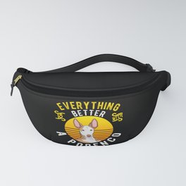 Podenco Dog Owner Gift Idea Fanny Pack