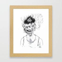 Schizophrenia Framed Art Print