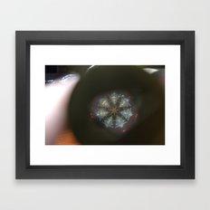 A View Inside Framed Art Print
