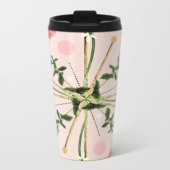 Flora Botanica No.1 Metal Travel Mug
