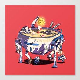 Ramen Tub Canvas Print