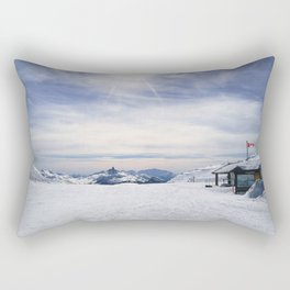 Little Whistler Peak Rectangular Pillow