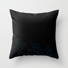 Gentleman's Club Throw Pillow