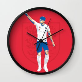 John Stones - Kicks & Stones Wall Clock