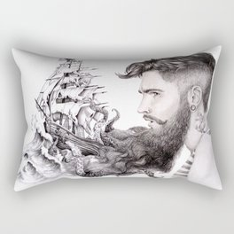 Sailor's Beard Rectangular Pillow
