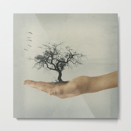 It's all in your mind Metal Print