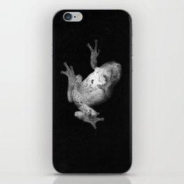 Falling Frog iPhone Skin