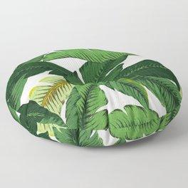 banana leaf palms Floor Pillow