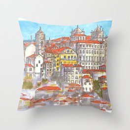 Porto Throw Pillow
