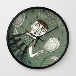 Schneewittchen-The New Queen Wall Clock
