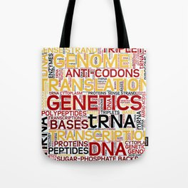 MOLECULAR BIOLOGY - Protein Synthesis Tote Bag