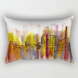 Going Downtown: Pontiac Rectangular Pillow