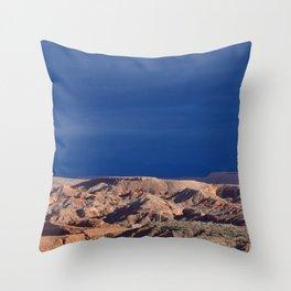Desert Storm's Abrew'n Throw Pillow