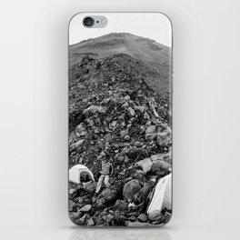 Climbing Up Misti iPhone Skin