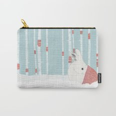 A cold winter for bunnies Carry-All Pouch