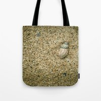 seashell Tote Bags featuring Seashell by Errne