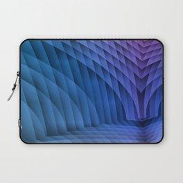 Geometric Path Blue-Pink Laptop Sleeve