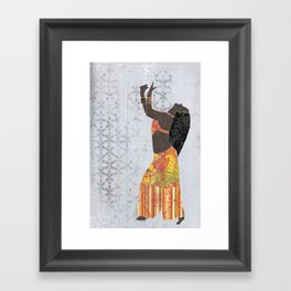 Belly dancer 11 Framed Art Print