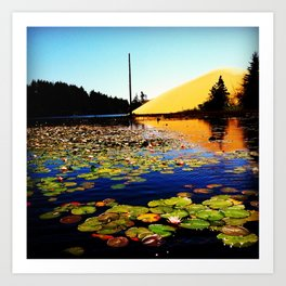 Collard Lake  Art Print