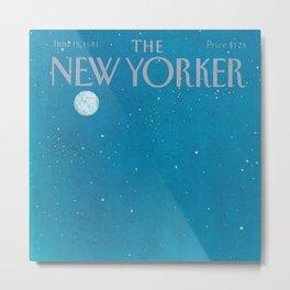 The New Yorker - 06/1981 Metal Print