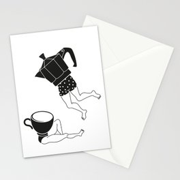 your coffee pot Stationery Cards