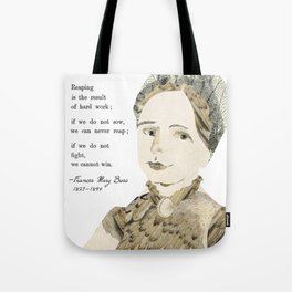 Homage to Frances Mary Buss Tote Bag