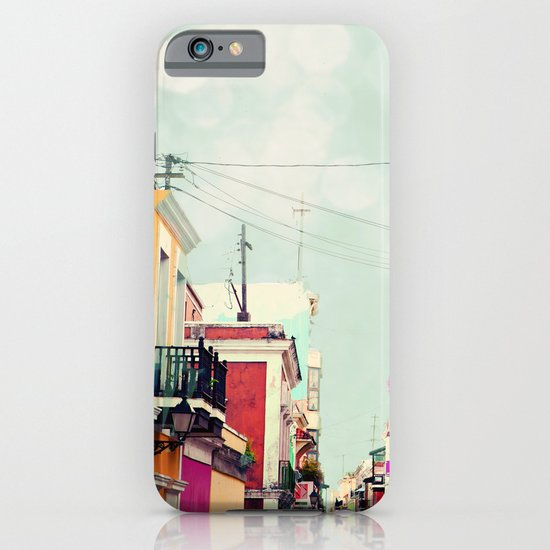 Colorful Buildings of Old San Juan, Puerto Rico iPhone & iPod Case