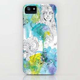Mermaid Spirits iPhone Case