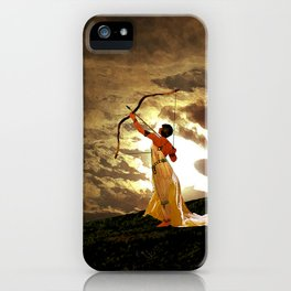 The Far Side of Midnight iPhone Case