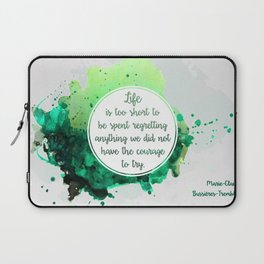 Marie-Claude Bussières-Tremblay Laptop Sleeve