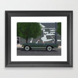 MB Coupé Framed Art Print