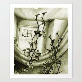 The Mirror Art Print
