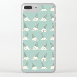 Oh my ice cream Clear iPhone Case