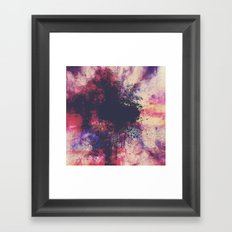 New Age Retro Framed Art Print