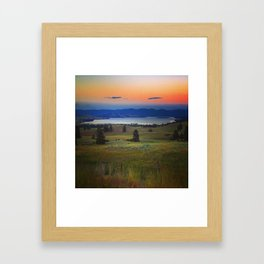 MT 1 Framed Art Print