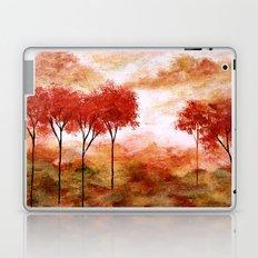 Burning Promise, Abstract Landscape Art Laptop & iPad Skin