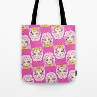 jem Tote Bags featuring jem by guizmo04