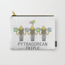 Pythagorean Triple Carry-All Pouch